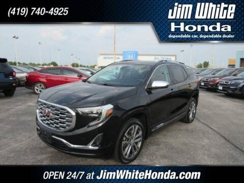 2018 GMC Terrain for sale at The Credit Miracle Network Team at Jim White Honda in Maumee OH