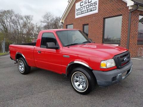 2006 Ford Ranger for sale at C & C MOTORS in Chattanooga TN