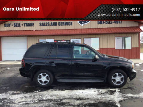 2008 Chevrolet TrailBlazer for sale at Cars Unlimited in Marshall MN