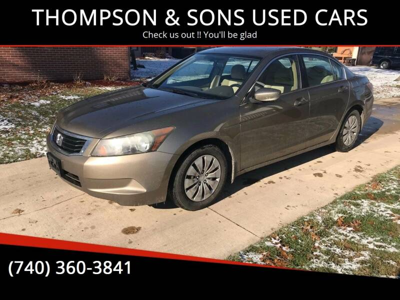 2009 Honda Accord for sale at THOMPSON & SONS USED CARS in Marion OH