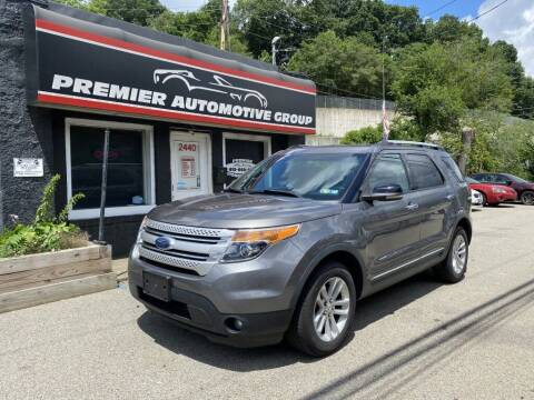 2013 Ford Explorer for sale at Premier Automotive Group in Pittsburgh PA