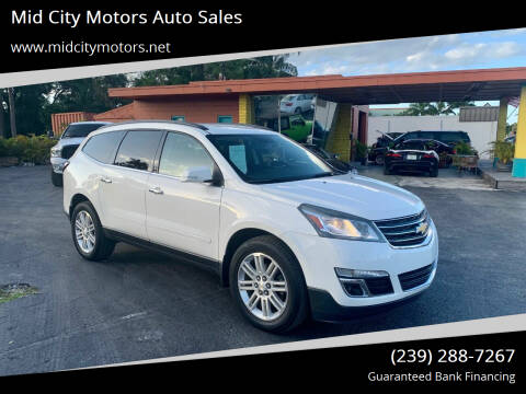 2015 Chevrolet Traverse for sale at Mid City Motors Auto Sales in Fort Myers FL