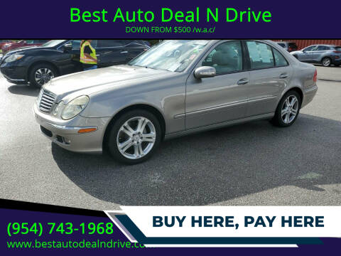 2006 Mercedes-Benz E-Class for sale at Best Auto Deal N Drive in Hollywood FL