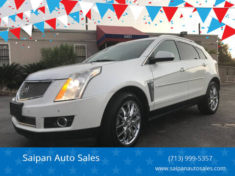 2013 Cadillac SRX for sale at Saipan Auto Sales in Houston TX