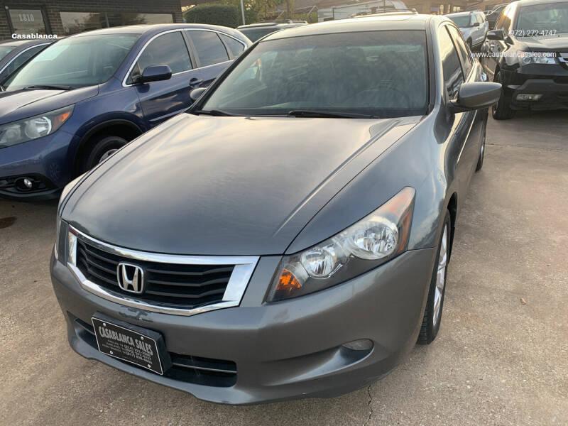 2008 Honda Accord for sale at Casablanca in Garland TX