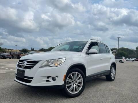2010 Volkswagen Tiguan for sale at Hatimi Auto LLC in Austin TX