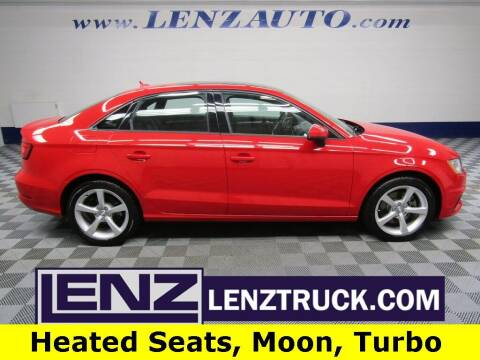 2015 Audi A3 for sale at LENZ TRUCK CENTER in Fond Du Lac WI