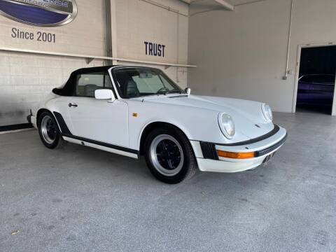 1983 Porsche 911 for sale at TANQUE VERDE MOTORS in Tucson AZ