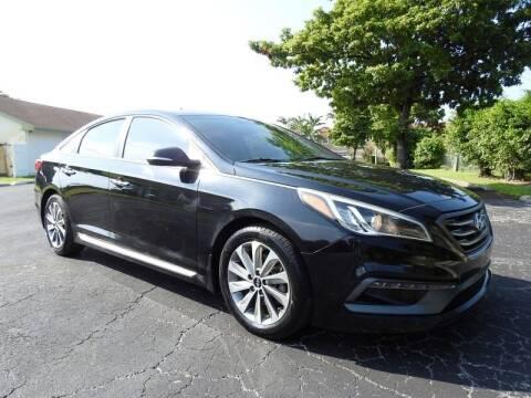 2017 Hyundai Sonata for sale at SUPER DEAL MOTORS 441 in Hollywood FL