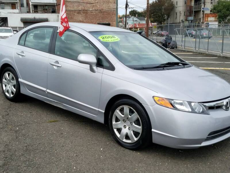 2008 Honda Civic for sale at EAST SIDE AUTO SALES INC in Paterson NJ