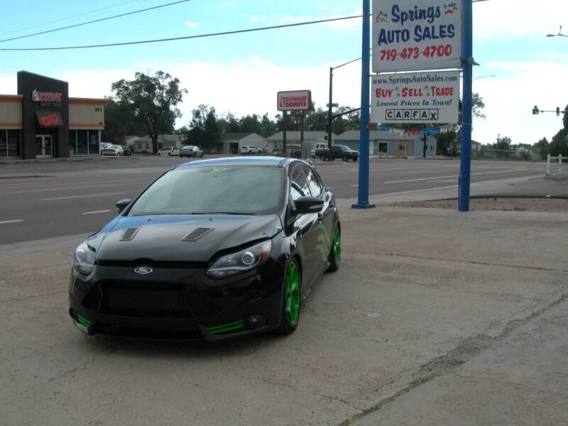 2013 Ford Focus for sale at Springs Auto Sales in Colorado Springs CO