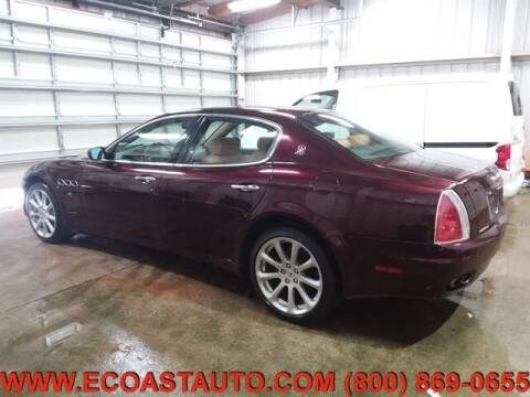 2005 Maserati Quattroporte for sale at East Coast Auto Source Inc. in Bedford VA