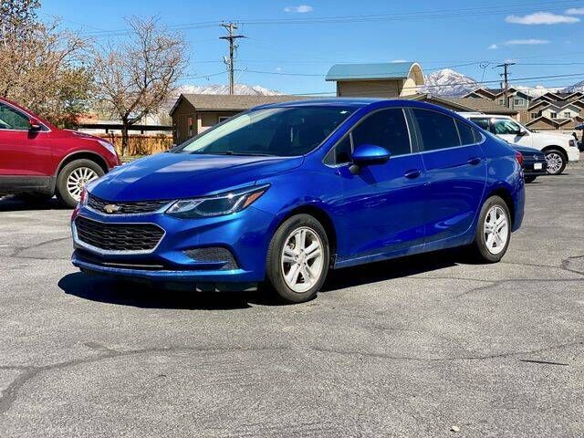 2018 Chevrolet Cruze for sale at INVICTUS MOTOR COMPANY in West Valley City UT