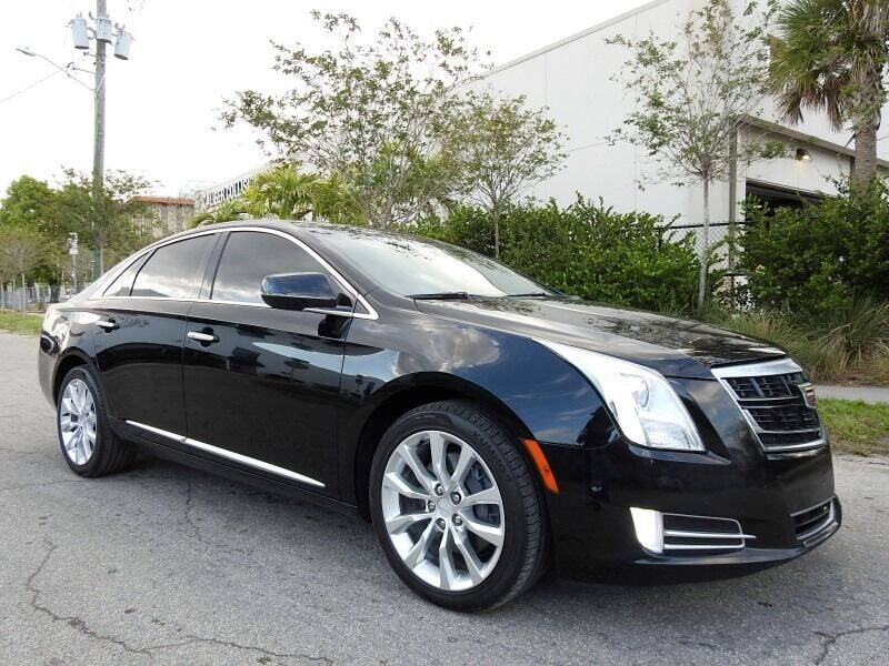 2017 Cadillac XTS for sale at SUPER DEAL MOTORS in Hollywood FL