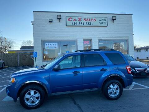 2010 Ford Escape for sale at C & S SALES in Belton MO