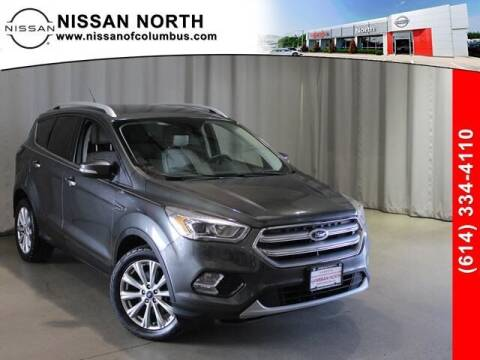 2017 Ford Escape for sale at Auto Center of Columbus in Columbus OH