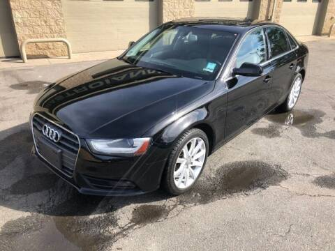 2013 Audi A4 for sale at Mastroianni Auto Sales in Palmer MA