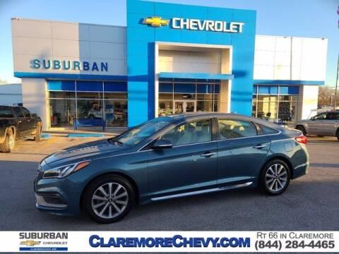 2017 Hyundai Sonata for sale at Suburban Chevrolet in Claremore OK