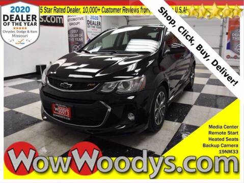 2019 Chevrolet Sonic for sale at WOODY'S AUTOMOTIVE GROUP in Chillicothe MO