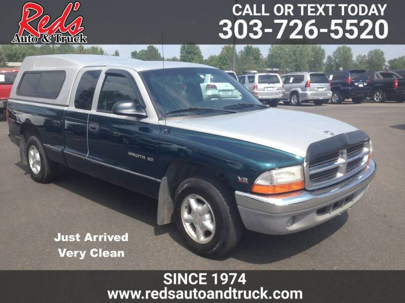 1997 Dodge Dakota for sale at Red's Auto and Truck in Longmont CO