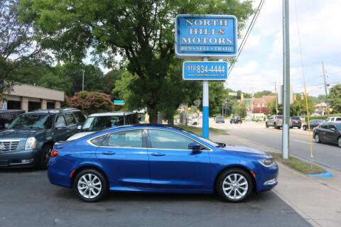 2015 Chrysler 200 for sale at North Hills Motors in Raleigh NC