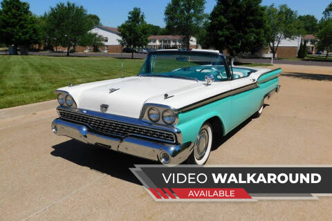 1959 Ford Fairlane for sale at WEST PORT AUTO CENTER INC in Fenton MO