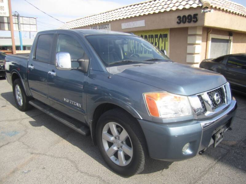 2010 Nissan Titan for sale at Cars Direct USA in Las Vegas NV