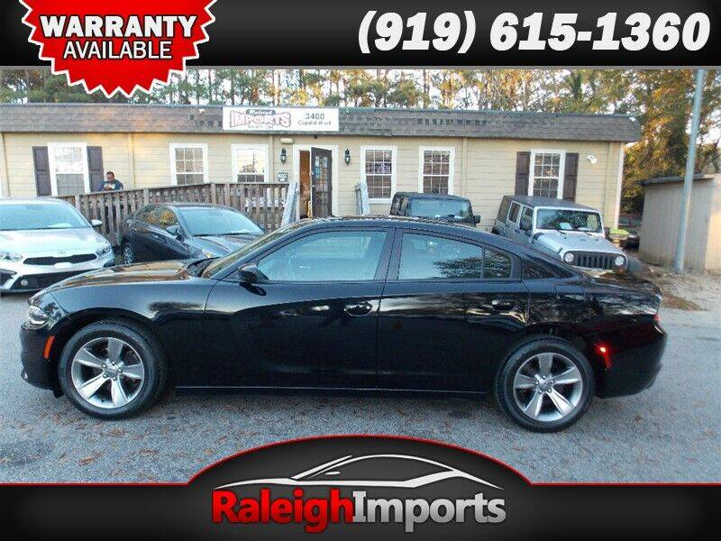 2018 Dodge Charger for sale at Raleigh Imports in Raleigh NC