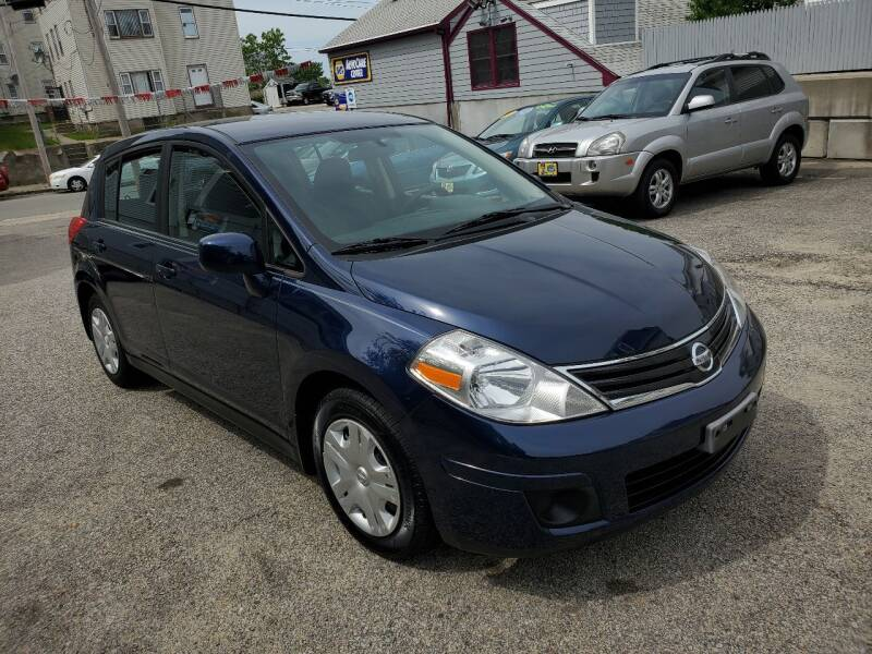 2012 Nissan Versa for sale at Fortier's Auto Sales & Svc in Fall River MA