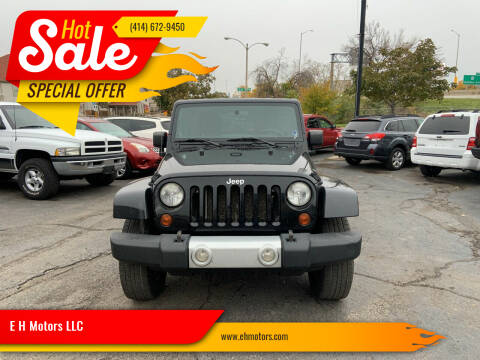 2011 Jeep Wrangler Unlimited for sale at E H Motors LLC in Milwaukee WI
