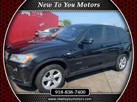 2011 BMW X3 for sale at New To You Motors in Tulsa OK