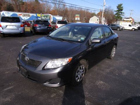 2010 Toyota Corolla for sale at Route 12 Auto Sales in Leominster MA
