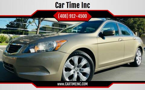 2009 Honda Accord for sale at Car Time Inc in San Jose CA