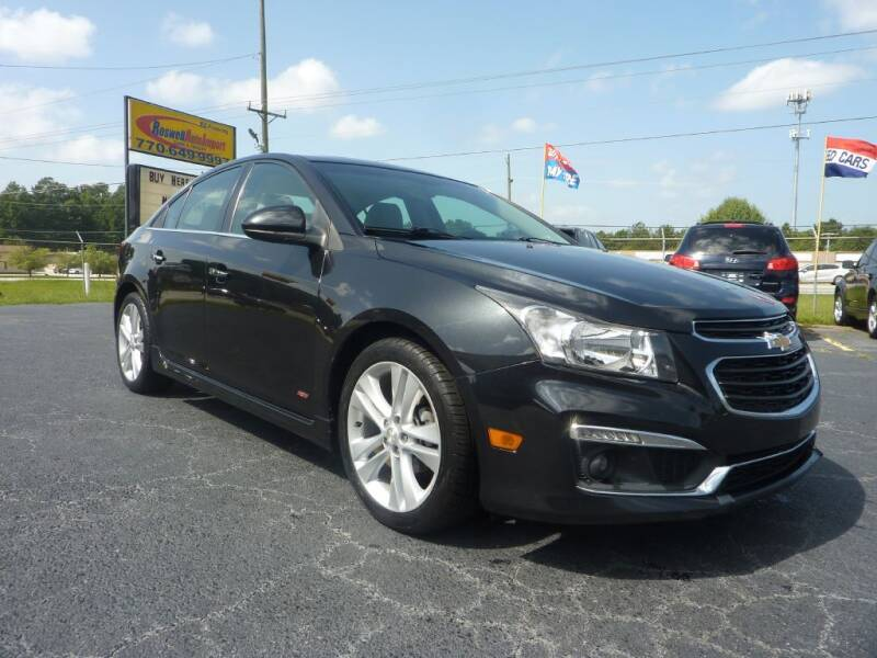 2015 Chevrolet Cruze for sale at Roswell Auto Imports in Austell GA