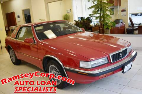 1991 Chrysler TC for sale at Ramsey Corp. in West Milford NJ