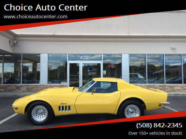 1969 Chevrolet Corvette for sale at Choice Auto Center in Shrewsbury MA