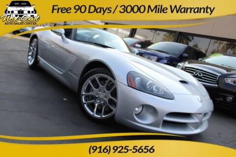 2003 Dodge Viper for sale at West Coast Auto Sales Center in Sacramento CA