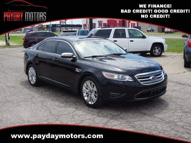 2012 Ford Taurus for sale at Payday Motors in Wichita KS