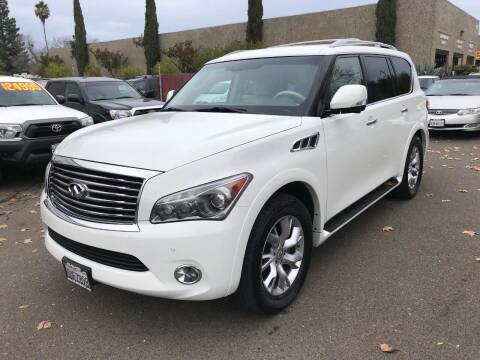 2012 Infiniti QX56 for sale at C. H. Auto Sales in Citrus Heights CA