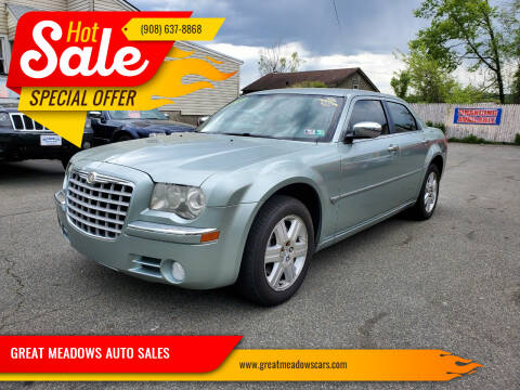 2006 Chrysler 300 for sale at GREAT MEADOWS AUTO SALES in Great Meadows NJ