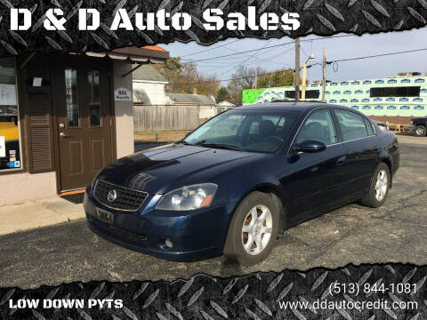 2006 Nissan Altima for sale at D & D Auto Sales in Hamilton OH