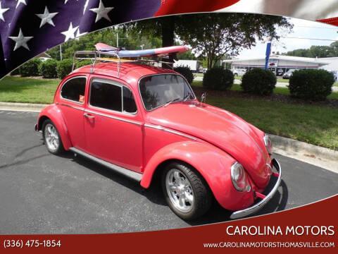 1966 Volkswagen Beetle for sale at CAROLINA MOTORS - Carolina Classics & More-Thomasville in Thomasville NC