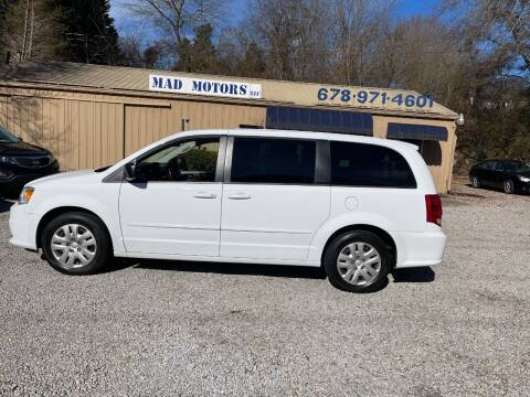 2016 Dodge Grand Caravan for sale at Mad Motors LLC in Gainesville GA
