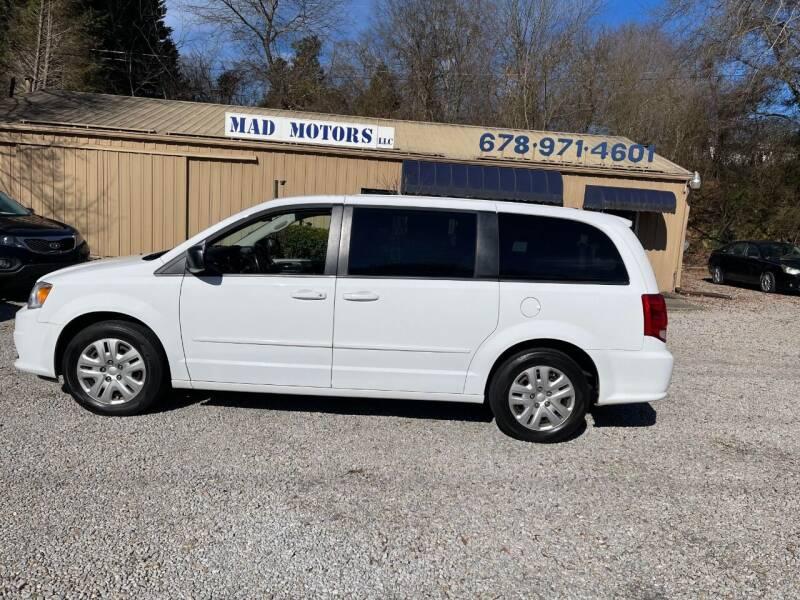 2016 Dodge Grand Caravan for sale at Mad Motors LLC in Gainesville GA