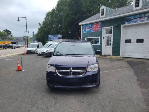 2016 Dodge Grand Caravan for sale at Bridge Auto Group Corp in Salem MA