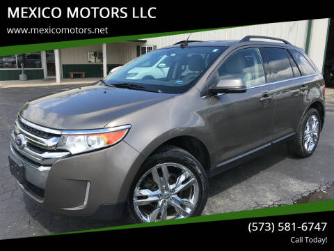 2013 Ford Edge for sale at MEXICO MOTORS LLC in Mexico MO