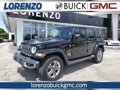 2020 Jeep Wrangler Unlimited for sale at Lorenzo Buick GMC in Miami FL