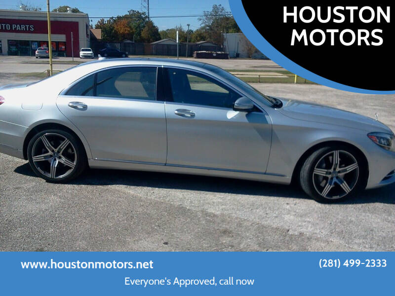 2014 Mercedes-Benz S-Class for sale at HOUSTON MOTORS in Stafford TX