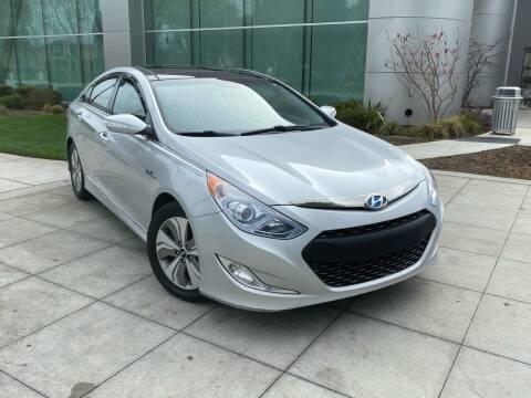 2015 Hyundai Sonata Hybrid for sale at Top Motors in San Jose CA
