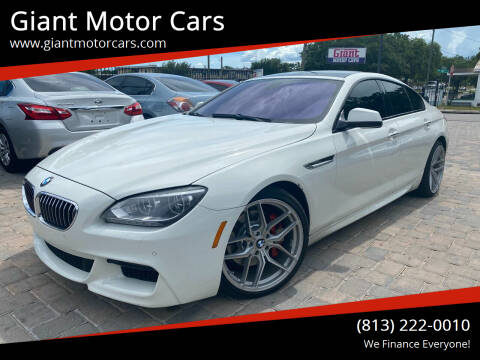 2014 BMW 6 Series for sale at Giant Motor Cars in Tampa FL